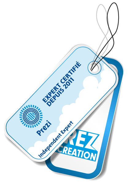 Prezcreation, expert Prezi certifié depuis 2011